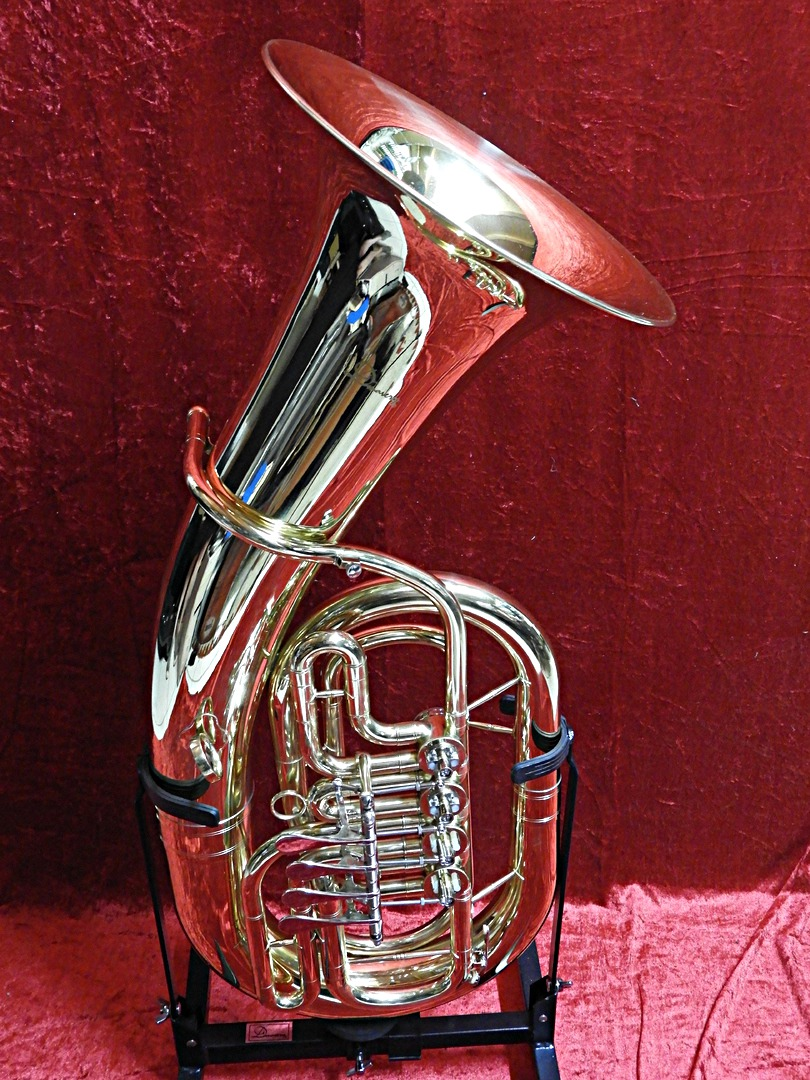 Musikinstrumente Professioneller Verkauf Bb Kaiserbariton Bariton Silber Euphonium Drehventile Versilbert